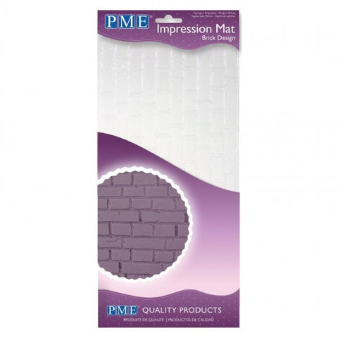 Brick Design Impression Mat