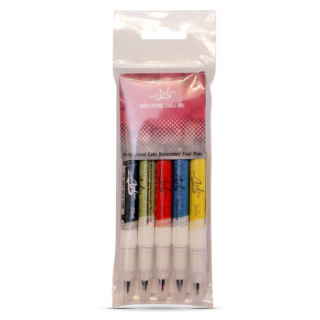 Edible Food Pen x 5 Multipack