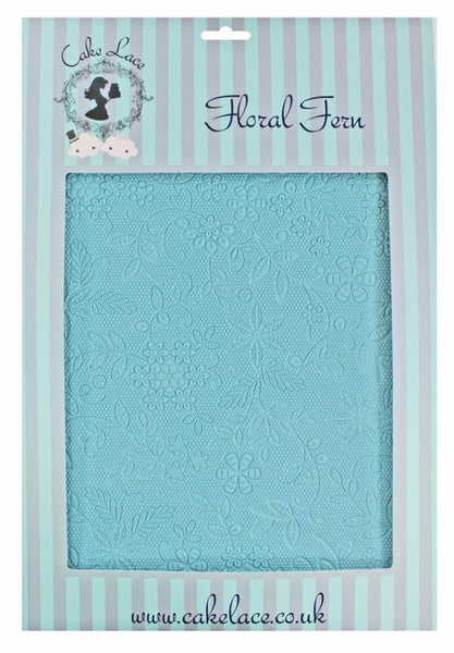 Floral Fern Large Cake Lace Mat