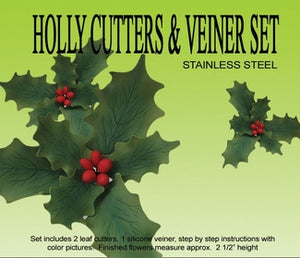Holly Cutters & Veiner Set
