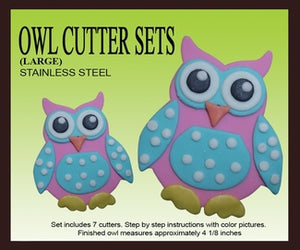 Owl Cutter Set (Large)