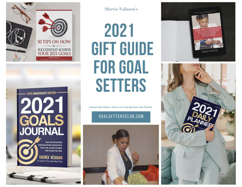 2021 Gift Guide for Goal Setters & Achievers