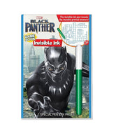 Marvels Black Panther Game Book With Invisible Ink