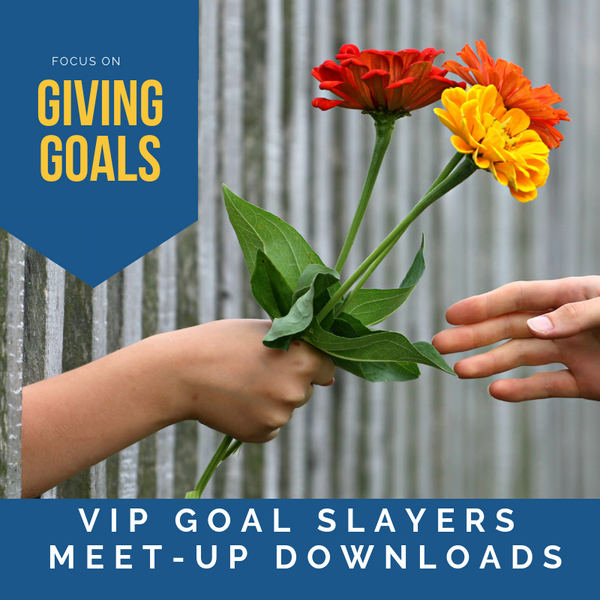 Monthly Meet-Up: December Edition - Giving Goals