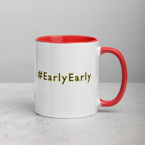 #LateLate and #EarlyEarly Mug with Color Inside