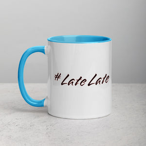 #LateLate Mug with Color Inside