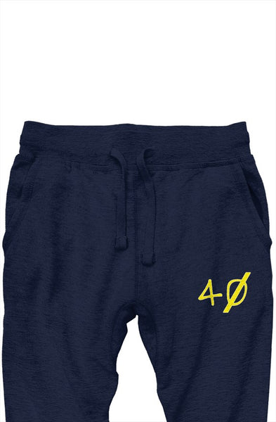 40 Yellow Joggers (Navy)