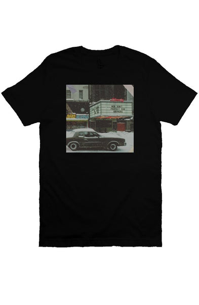 "40XL ""Men Cant Save"" Poster Tee (Black)"