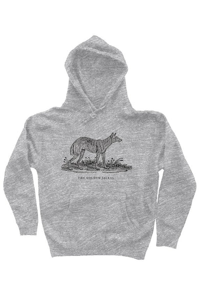 The Golden Jackal Hoodie Gray