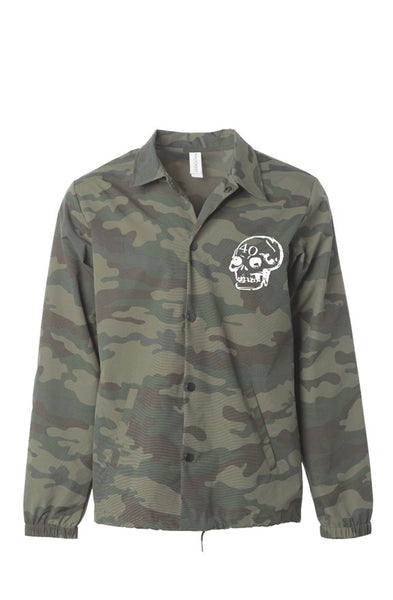 40 'Skull' Camo Jacket (Embroided)