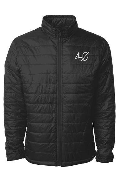 40 Embroided Puffer Jacket (Mens)