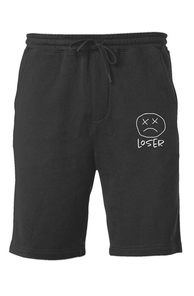 "40XL ""Smiley"" Embroided Midweight Fleece Shorts"
