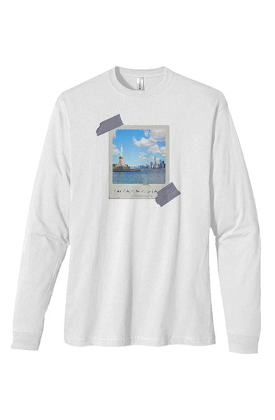 "40RTY ""Capitalism is"" heavyweight long sleeve t sh"