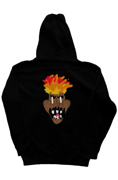 Flames independent pullover hoody