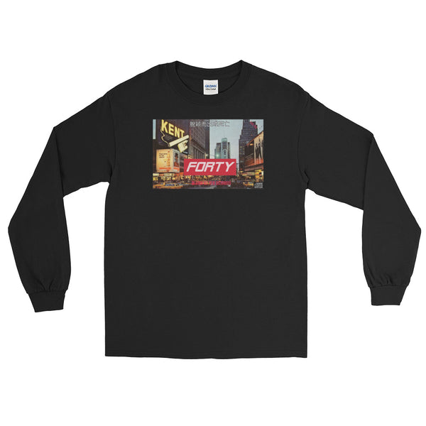 "Retro ""FORTY"" Album Long Sleeve T-Shirt"