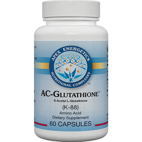 Apex Energetics - AC-Glutathione (K-88) - Intracellular and Mitochondrial Detox Support
