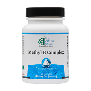 Methyl B Complex - Ortho Molecular - B vitamin support