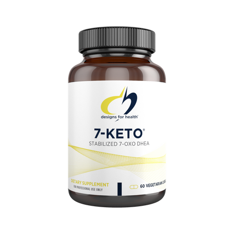 Designs for Health - 7-Keto  - 7-OXO DHEA Support - Weight Loss - Fat Metabolism Support