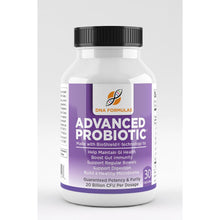 DNA Formulas Advanced Probiotics - 30 Capsules - Potency Guaranteed until Expiration. Patented Bioshield Technology ensures live cultures are delivered, Probiotic with Acidophilus and Bifidum Strains. Best Probiotics for Women and Men