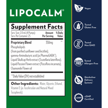 Quicksilver Scientific - LipoCalm Sleep Formula with PharaGABA, Skullcap and Passion Flower Extract