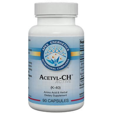 Apex Energetics - Acetyl-CH - (K-40) Brain, Cognition, Memory and Acetylcholine Support