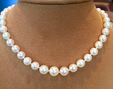 Vintage graduated pearls
