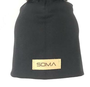 Tupsupipo - Pom Pom Beanie - All Black