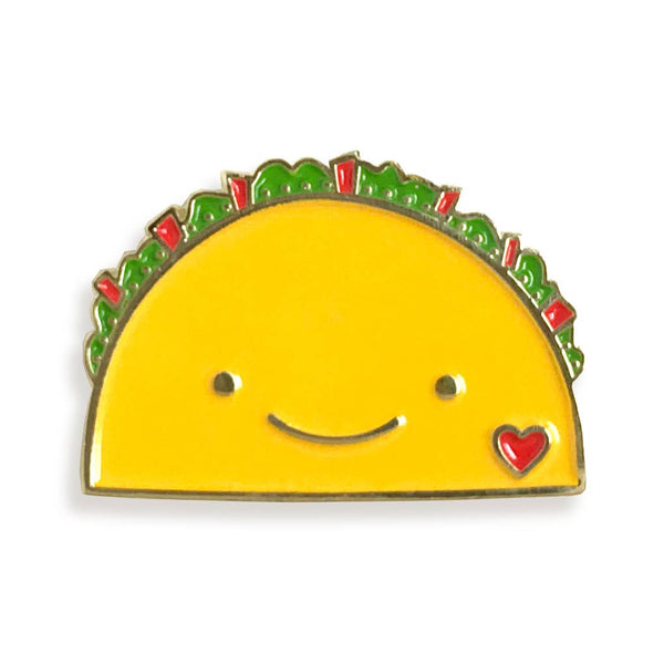 TACO LOVE ENAMEL PIN