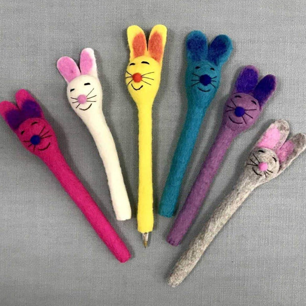 FELTED PENCIL HOLDER - BUNNY