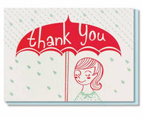 UMBRELLA THANK YOU CARD