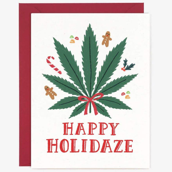 HAPPY HOLIDAZE HOLIDAY CARD