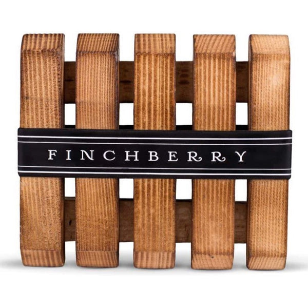 FINCHBERRY WOODEN SOAP DISH
