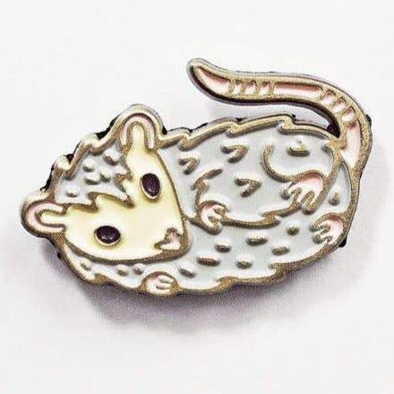 CUTE POSSUM ENAMEL PIN