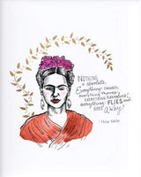 FRIDA KAHLO QUOTE PRINT