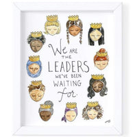 WE ARE THE LEADERS... PRINT