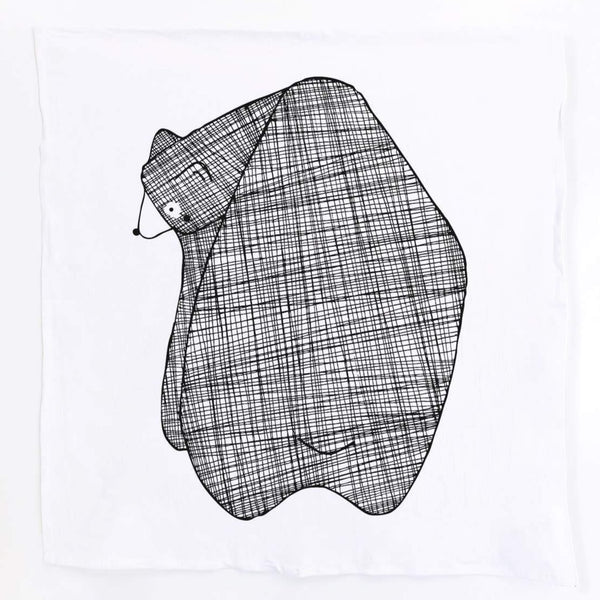 BARNABY BEAR GINGIBER TEA TOWEL