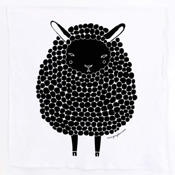 SHEEP GINGIBER TEA TOWEL