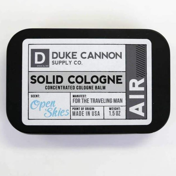 DUKE CANNON AIR SOLID COLOGNE