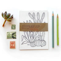 COLORING POSTCARDS CACTUS COLLECTION
