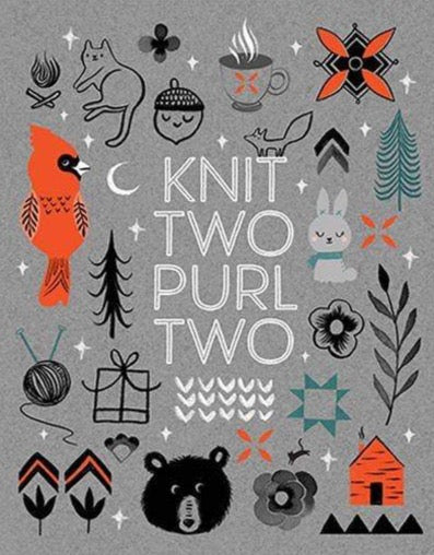 KNIT TWO PURL TWO PRINT