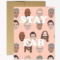 STAY FAB QUEER EYE CARD