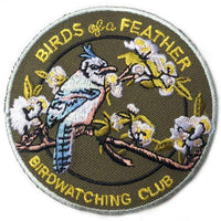 BIRDS OF A FEATHER BIRDWATCHING CLUB PATCH