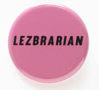 LEZBRARIAN BUTTON