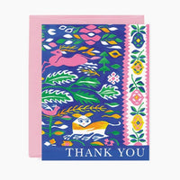 TAPESTRY THANK YOU CARD