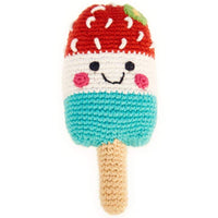 FRIENDLY POPSICLE RATTLE