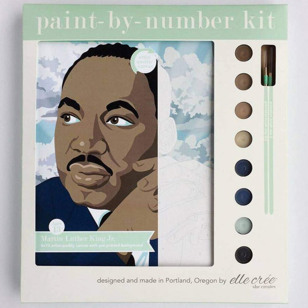 MARTIN LUTHER KING, JR PAINT BY NUMBERS KIT