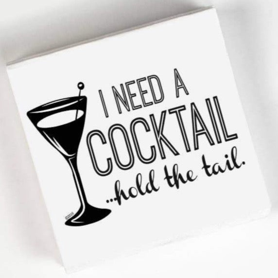 I NEED A COCKTAIL... PAPER NAPKIN PACK