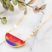 RAINBOW MOOD SWINGS NECKLACE