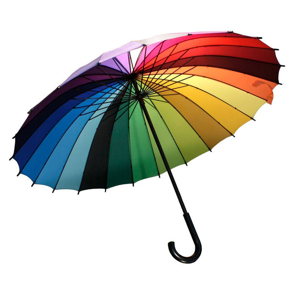 RAINBOW COLORWHEEL UMBRELLA