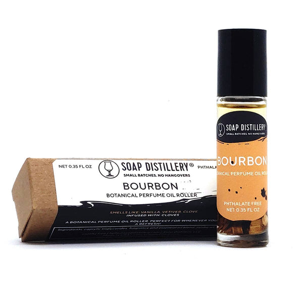 SOAP DISTILLERY BOURBON BOTANICAL PERFUME ROLLER